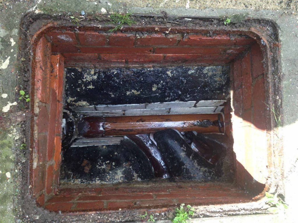 After Blocked Drain in Ashington